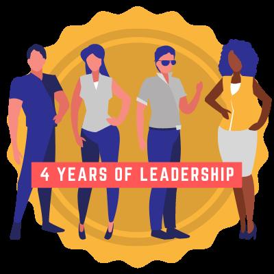 4 Years of Leadership